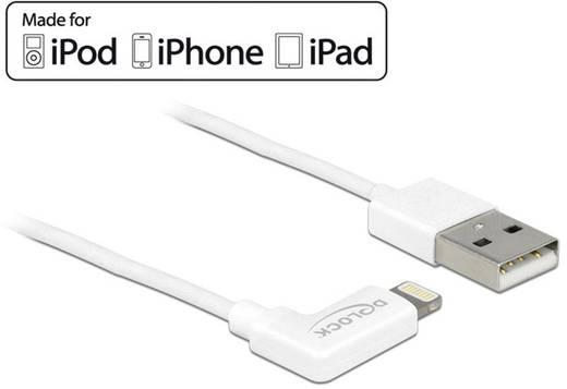 Delock iPad/iPhone/iPod Datenkabel/Ladekabel [1x USB 2.0 Stecker A - 1x Apple Lightning-Stecker] 1 m Weiß