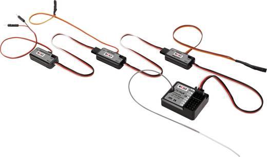 Reely GT4 EVO Pistolengriff-Fernsteuerung 2,4 GHz Anzahl Kanäle: 4 inkl. Empfänger