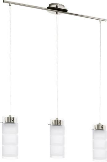 Pendelleuchte LED GX53 EEK: A+ (A++ - E) 21 W EGLO Olvero 93542 Nickel (matt)
