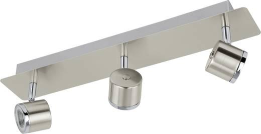 LED-Deckenstrahler 15 W Warm-Weiß EGLO Pierino 93695 Nickel (matt), Chrom