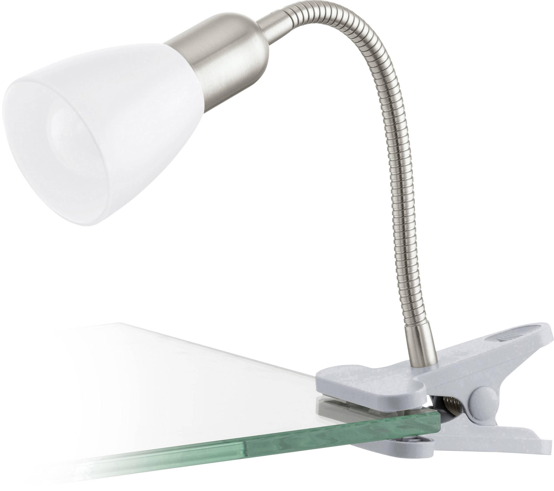 EGLO Dakar 3 92932 Klemmleuchte LED E14 4 W Silber, Chrom