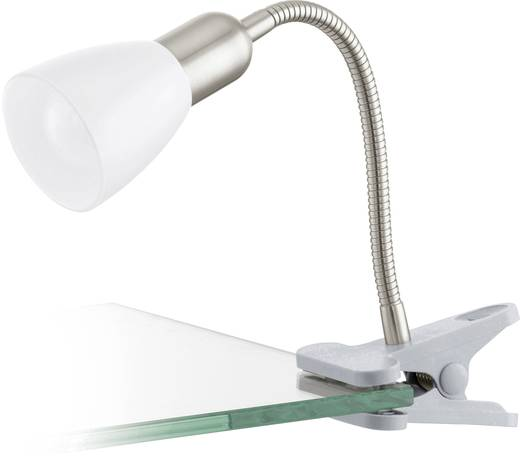 Klemmleuchte LED E14 4 W EGLO Dakar 3 92932 Silber, Chrom