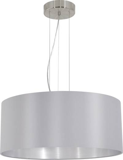 Pendelleuchte LED E27 180 W EGLO Maserlo 31606 Grau, Silber