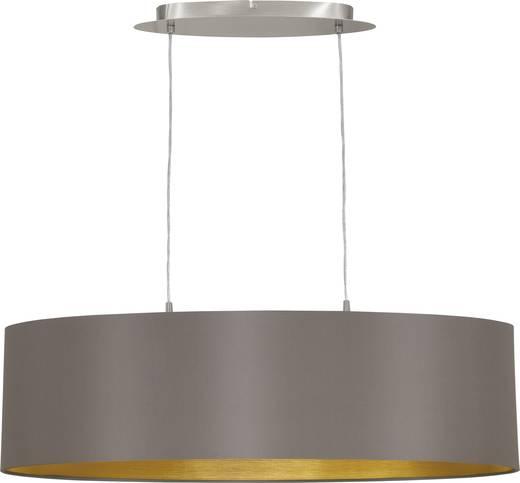 Pendelleuchte LED E27 120 W EGLO Maserlo 31614 Cappuccino, Gold