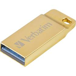 USB flash disk Verbatim METAL EXECUTIVE 99106, 64 GB, USB 3.0, zlatá