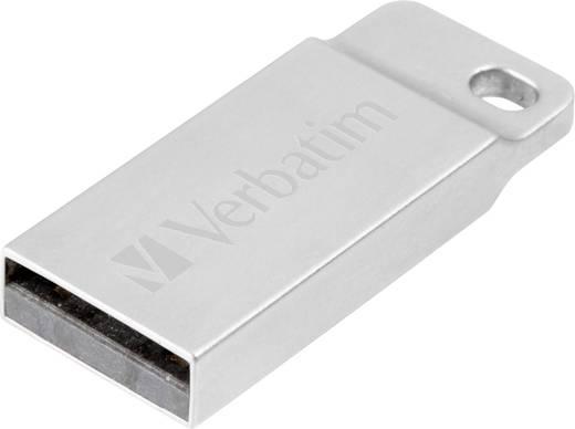 Verbatim Metall-Gehäuse USB-Stick 64 GB Silber 98750 USB 2.0