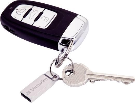 Verbatim Metall-Gehäuse USB-Stick 16 GB Silber 98748 USB 2.0