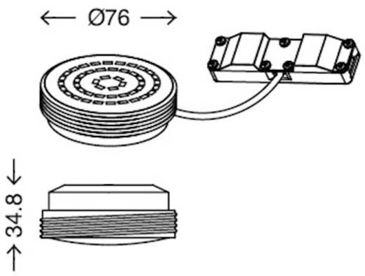 LED-Modul 10.5 W Warm-Weiß Briloner 7247011 Weiß