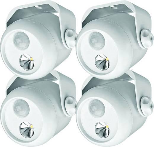 Mr. Beams MB304 LED-Außenstrahler mit Bewegungsmelder Kalt-Weiß