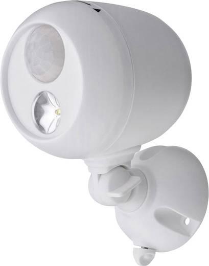 Mr. Beams MB330 LED-Außenstrahler mit Bewegungsmelder Neutral-Weiß Weiß