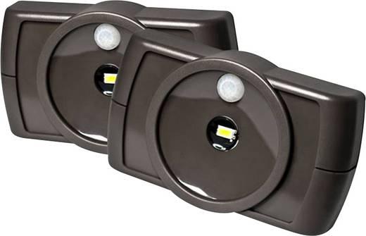 Nachtlicht mit Bewegungsmelder LED Kalt-Weiß Mr. Beams MB862 Braun