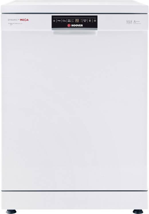 Geschirrspüler 60 cm Hoover DYM 893/T EEK: A+++ Standgerät Weiß | {Standgeschirrspüler 64}