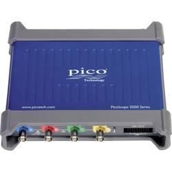 USB osciloskop pico 3403D MSO, 50 MHz, 20kanálový, s pamětí (DSO), mixovaný signál (MSO), generátor funkcí