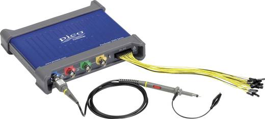 pico 3403D MSO USB-Oszilloskop 50 MHz 20-Kanal 250 MSa/s 16 Mpts Digital-Speicher (DSO), Mixed-Signal (MSO), Funktions