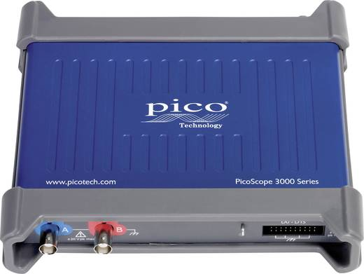 pico 3206D MSO USB-Oszilloskop 200 MHz 18-Kanal 500 MSa/s 256 Mpts Digital-Speicher (DSO), Mixed-Signal (MSO), Funktio