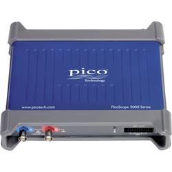 USB osciloskop pico 3203D MSO, 50 MHz, 2kanálový, s pamětí (DSO), mixovaný signál (MSO), generátor funkcí