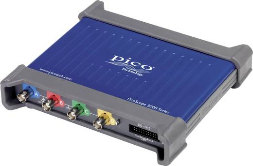 pico 3406D MSO USB-Oszilloskop 200 MHz 20-Kanal 250 MSa/s 128 Mpts Digital-Speicher (DSO), Mixed-Signal (MSO), Funktio