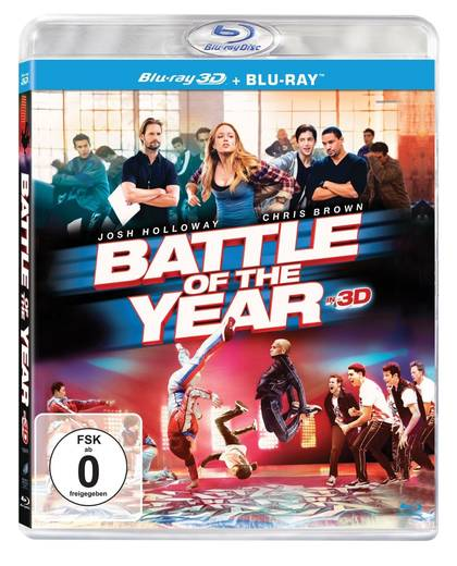 blu-ray Battle of the Year 2D + 3D