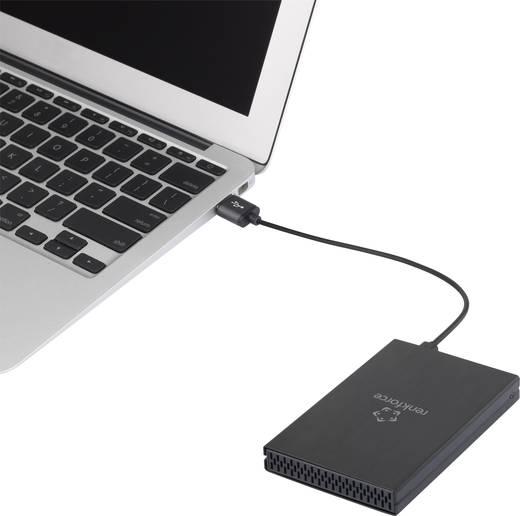 SATA-Festplatten-Gehäuse 2.5 Zoll Renkforce RF-4233384 USB-C™ USB 3.1
