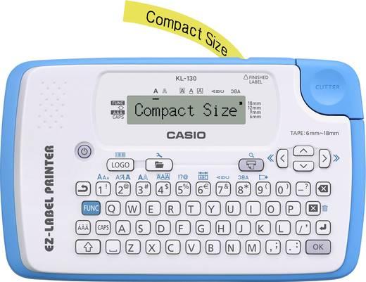 Beschriftungsgerät Casio KL-130 Geeignet für Schriftband: XR 6 mm, 9 mm, 12 mm, 18 mm