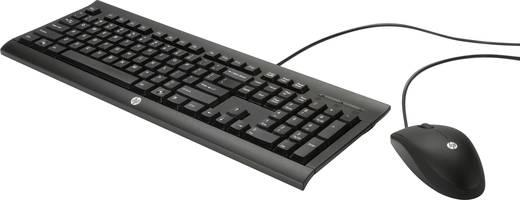 USB-Tastatur, Maus-Set HP C2500 Schwarz
