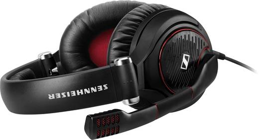 Gaming Headset 3.5 mm Klinke schnurgebunden, Stereo Sennheiser Game Zero Over Ear Schwarz