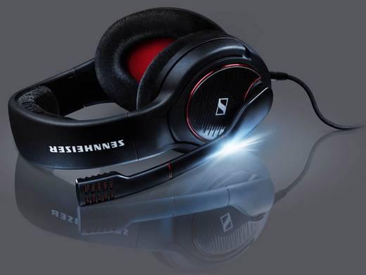 Gaming Headset 3.5 mm Klinke schnurgebunden, Stereo Sennheiser Game One Over Ear Schwarz