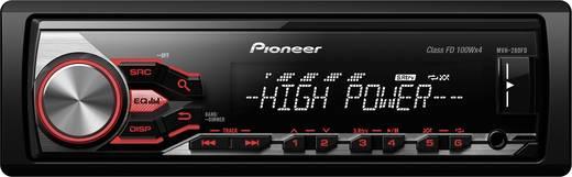 Pioneer MVH-280FD Autoradio Anschluss für Lenkradfernbedienung