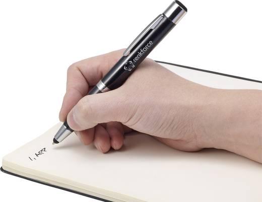 Touchpen Renkforce Stylus Pen wiederaufladbar Schwarz
