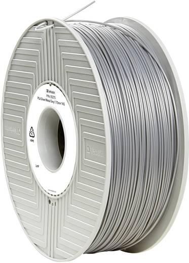 Verbatim 55275 Filament PLA 1.75 mm Silber-Metallic (matt) 1 kg