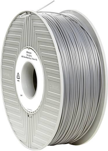 Verbatim 55016 Filament ABS 1.75 mm Silber-Metallic (matt) 1 kg