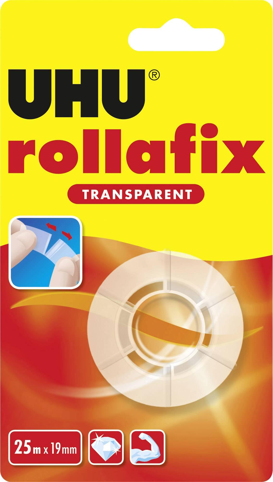 W x L 25 M x 19 mm 25 M 36965 UHU rollafix Tape Transparent