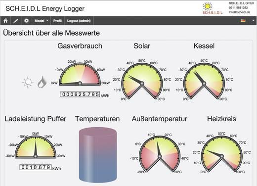 SCH.E.I.D.L Energy Controller Multi-Datenlogger -50 bis 125 °C Kalibriert nach Werksstandard (ohne Zertifikat)