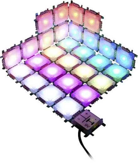 Experimentier-Set Brick´R´Knowledge 7 Color Light Set 124344