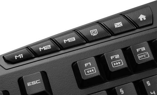 USB-Gaming-Tastatur Sharkoon Skiller Pro Beleuchtet Schwarz
