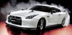 RC model auta Tamiya Nissan GT-R Drift, 1:10, elektrický, 4WD (4x4), stavebnice