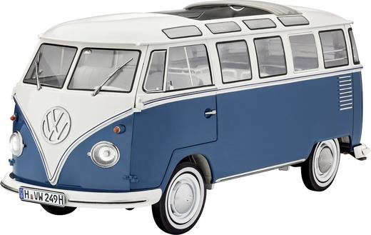 revell 07009 volkswagen t1 bus samba bus bausatz 1 16 kaufen. Black Bedroom Furniture Sets. Home Design Ideas