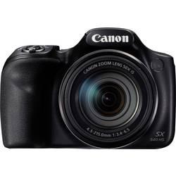 Digitálny fotoaparát Canon Powershot SX540 HS, 20.3 Megapixel, Zoom (optický): 50 x, čierna