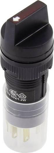 Drehschalter 250 V/AC 5 A Schaltpositionen 2 1 x 90 ° DECA ADP16C4-AA1-1E0Y IP40 1 St.