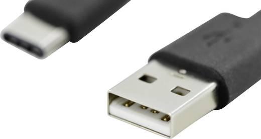 Digitus USB 2.0 Kabel [1x USB-C™ Stecker - 1x USB 2.0 Stecker A] 1.8 m Schwarz