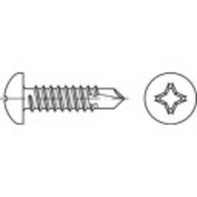 Bohrschrauben 4.2 mm 45 mm Kreuzschlitz Phillips DIN 7504 Stahl galvanisch verzinkt 500 St Preisvergleich