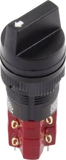 Drehschalter 250 V/AC 5 A Schaltpositionen 2 1 x 90 ° DECA ADD16C6-AA1-2AHB IP65 1 St.
