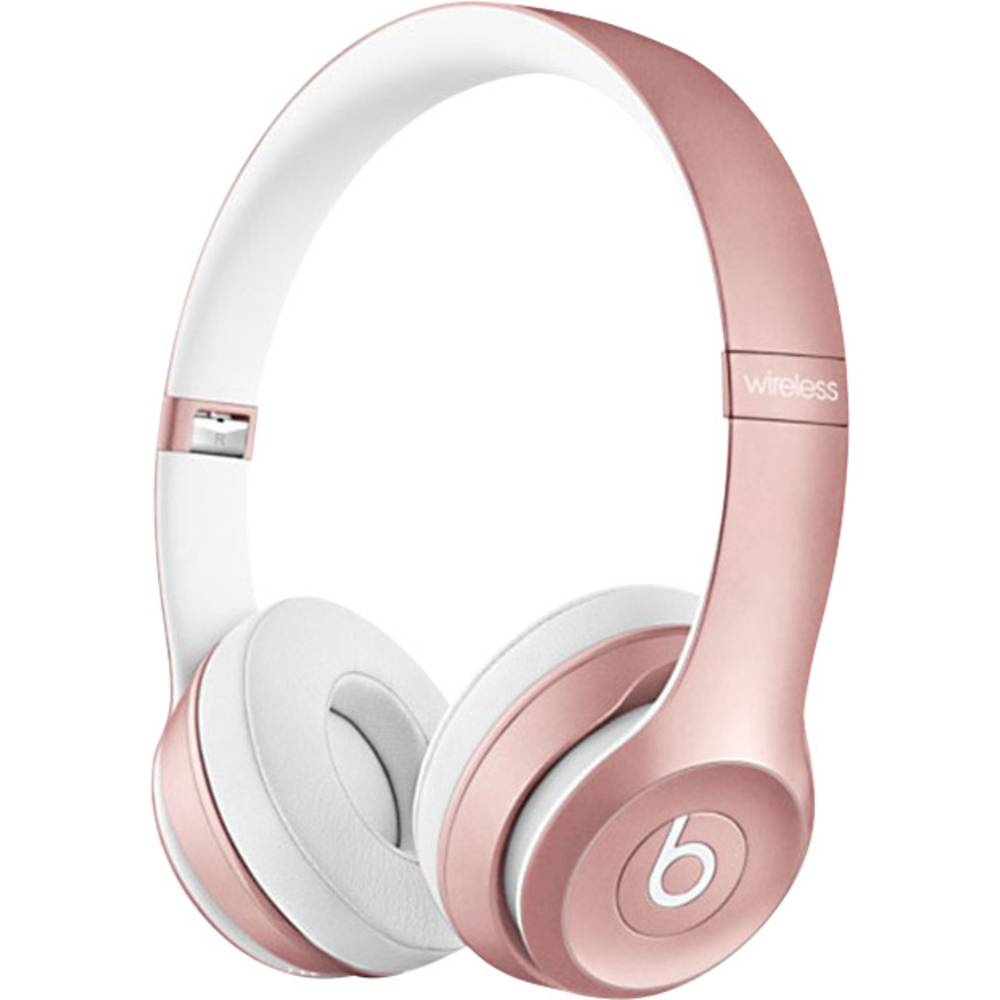 bluetooth 1075101 headphone beats solo 2 wireless on ear foldable headset rose gold from. Black Bedroom Furniture Sets. Home Design Ideas
