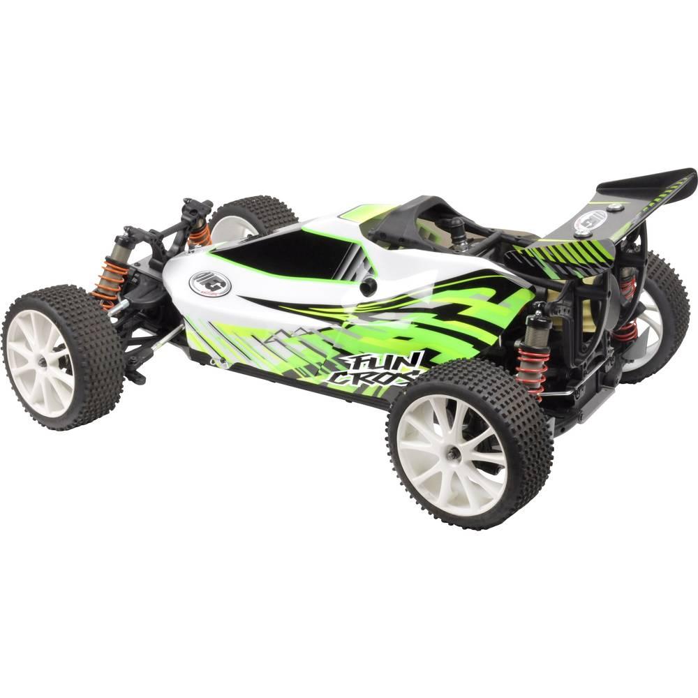 fg modellsport fun cross 1 6 rc model car petrol buggy 4wd. Black Bedroom Furniture Sets. Home Design Ideas