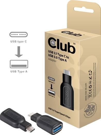 club3D USB Adapter [1x USB-C™ Stecker - 1x USB 3.0 Buchse A] CAA-1521