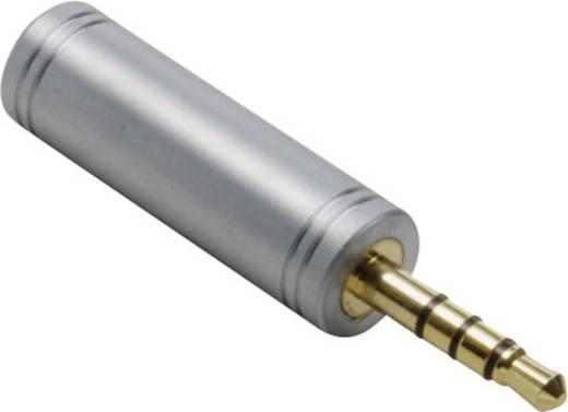 BKL Electronic 1103098 Klinke Audio Adapter [1x Klinkenstecker 3.5 mm - 1x Klinkenbuchse 3.5 mm] Gold