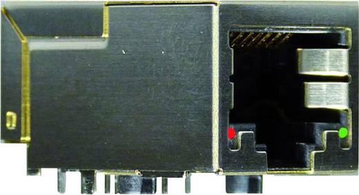 Modular-Einbaubuchse Buchse, Einbau vertikal Pole: 8P8C+2 Y-CONJACK-22-THR Metall, Vernickelt Yamaichi Y-CONJACK-22-TH