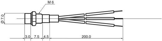 LED-Signalleuchte mehrfarbig Rot, Grün 12 V/DC BD-0608 12 V