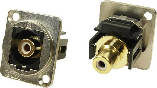 XLR Adapter Cinch Buchse auf Cinch Buchse Weiß Adapter, Einbau CP30231M Cliff Inhalt: 1 St.