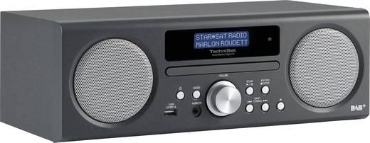 DAB+ Tischradio TechniSat TechniRadio Digit CD AUX, CD, DAB+, UKW, USB Anthrazit